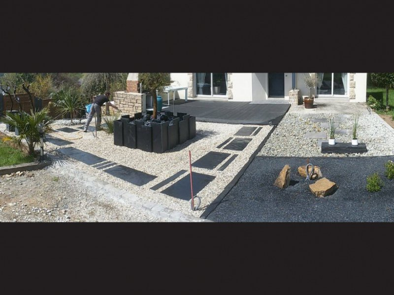 Am nagement de jardins et ext rieurs design morbihan for Amenagement exterieur zen