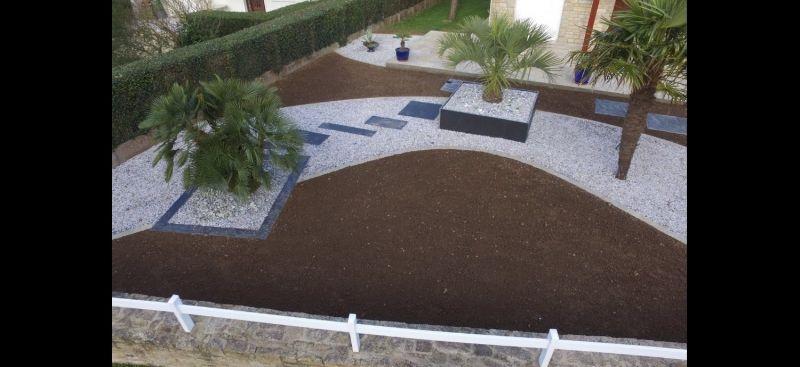 Rénovation allée et terrasse. - Arstïl Paysagistes Designer ...