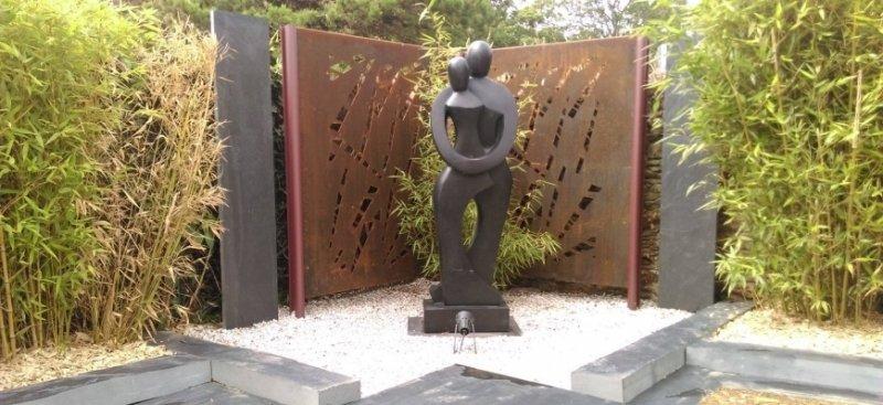 D coration jardin et ext rieur vannes et sa r gion 56 - Statue moderne pour jardin ...