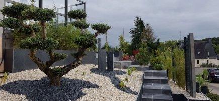 jardin contemporain cl gu rec 56 arst l paysagistes designer conception am nagement de. Black Bedroom Furniture Sets. Home Design Ideas